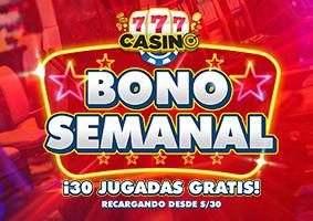 Bono Semanal Casino